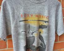 VINTAGE 1982 ROXY MUSIC AVALON TOUR T-SHIRT