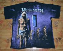 1992 MEGADETH Countdown to Extinction Concert T
