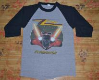 1983 ZZ TOP Eliminator Across USA Baseball Jersey