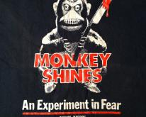 Vintage Original 1989 Monkey Shines horror movie t-shirt