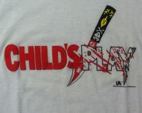 Vintage 1988 CHILD'S PLAY horror movie t-shirt