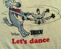 1980's Let's Dance Pavlov's Dog comic strip