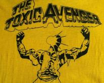 Vintage 1980's Toxic Avenger Troma horror movie t-shirt
