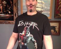 Vintage 1999 Iron Maiden Ed Hunter tour t-shirt