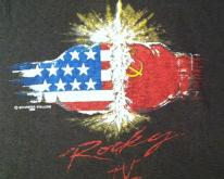 Vintage original 1985 Rocky IV movie t-shirt