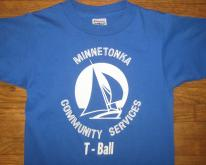 1980's Minnetonka T-ball kid's , youth medium