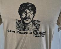 John Lennon T 1980Give Peace a Chance 80s