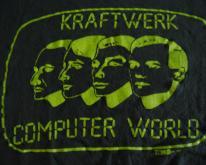 KraftwerkComputer World 1981 80s Neon T LARGE