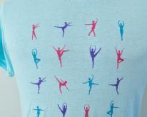 80s BurnoutBoston Ballet Dancing Dancers T