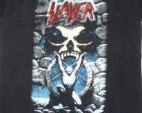 Slayer 90's Live Intrusion Tour Vintage T Shirt Concert '95
