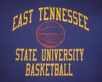 80s ETSU east tennessee state university basketball