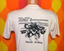 HELL'S GYM saudi arabia middle east  80s gulf