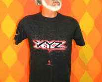 XYZ hard rock metal black concert band tour