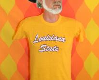 LSU louisiana state university  tigers gold