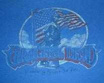 vintage 1985 GRATEFUL DEAD concert tour t-shirt Large rock