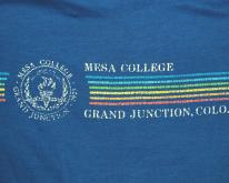 MESA COLLEGE colorado rainbow  80s soft