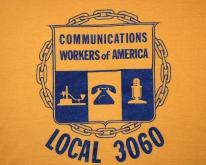 UNION communications workers 3060  70s 80s