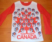 1976 OLYMPICS canada hockey team photo  70s
