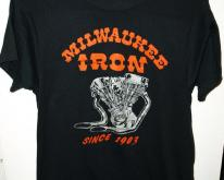 80s 50/50 Milwaukee Iron Since 1903