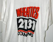 Wheaties 2131 Cal Ripken Consecutive Games