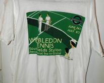 1990 Wimbledon Tennis London Transport Museum
