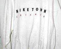 Nike Town Chicago White Tag Made in USA Swea