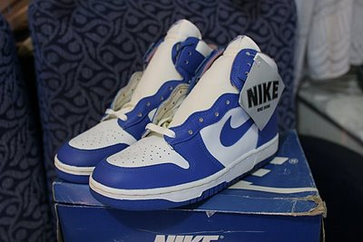 Vintage Nike Dunk 1986 Sneakers Shoes
