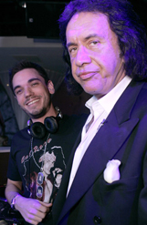 dj am and gene simmons