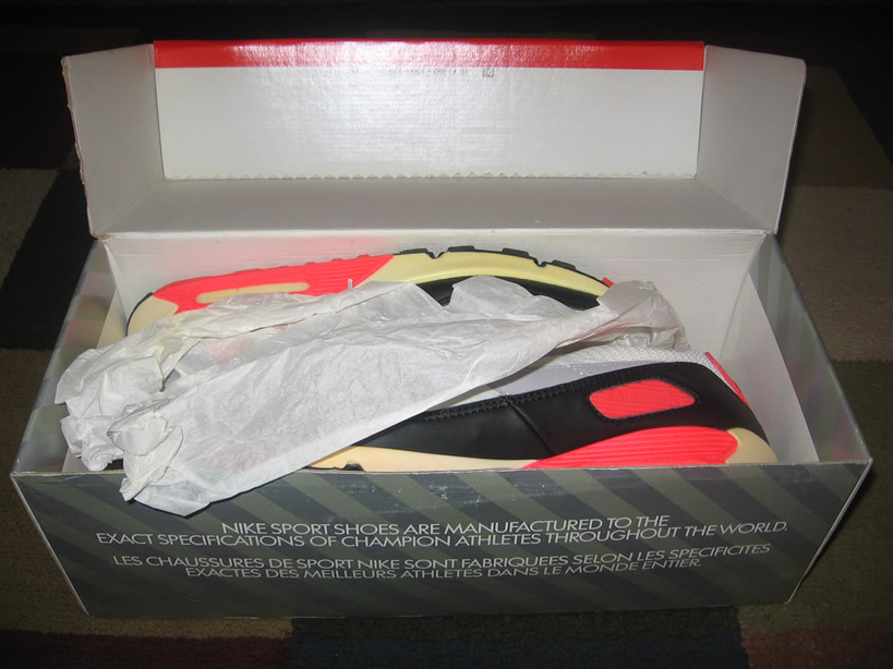 Buy Vintage Air Max 90 Infrared 1989 Sneakers Shoes