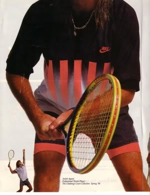 Agassi clothing store
