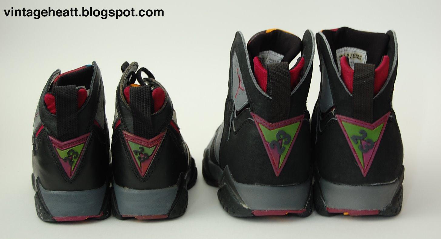 Vintage Nike Air Jordan VII (1991) Bordeaux Sneakers Shoes