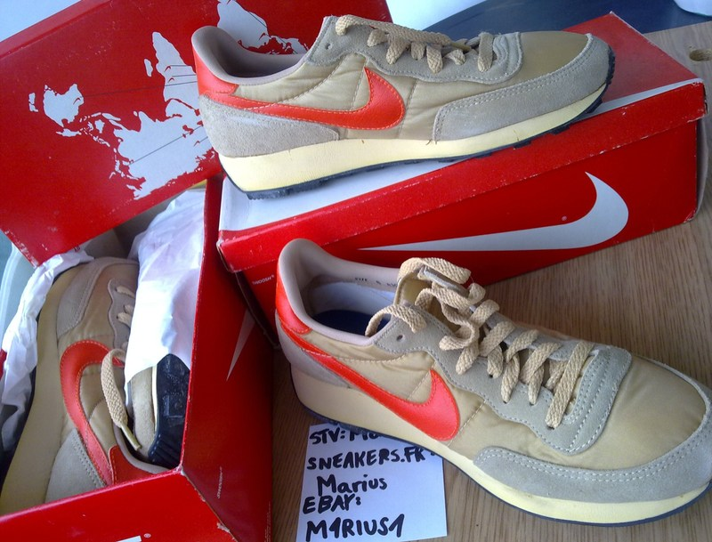 Saw these original Vintage Nike Daybreaks on ebay…. compared with the  recent retros, the originals look fabulous!!