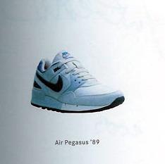 58dc5431d0cd2 Vintage Nike Air Pegasus 1989 Comparison Re-Release Sneakers