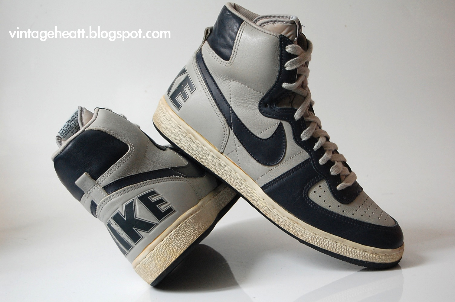 magasin en ligne 34f4a 98562 Vintage Nike Terminator High (1985) Sneakers Shoes