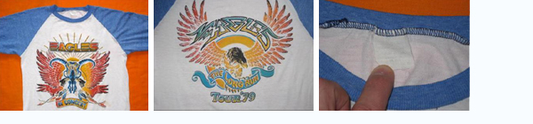 vintage eagles t-shirt