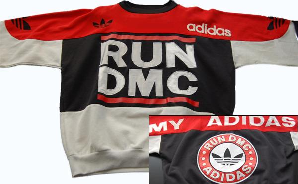 vintage run dmc adidas sweatshirt