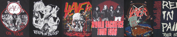 vintage slayer t-shirts