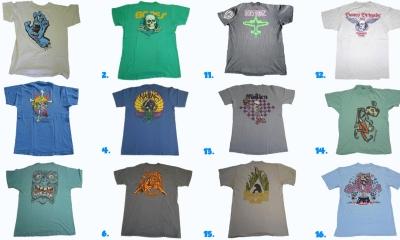 Vintage 1980s Skateboard T-Shirts
