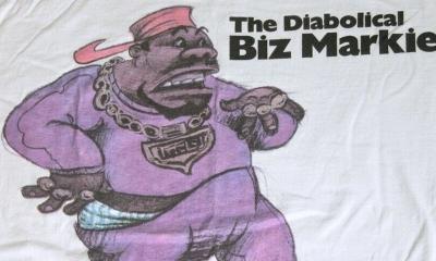 Vintage biz markie cold chillin t-shirt