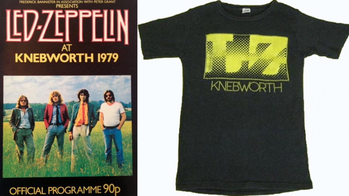 Vintage Led Zeppelin Shirts Sells for $10,000