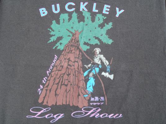 Vintage Buckley Log Show T-Shirt