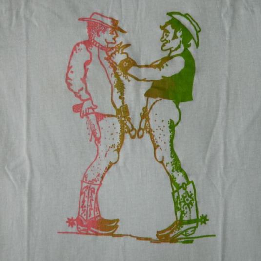 Vintage Gay Cowboys T-Shirt