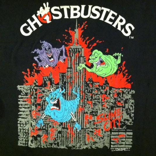 Vintage Ghost Busters 2 T-Shirt