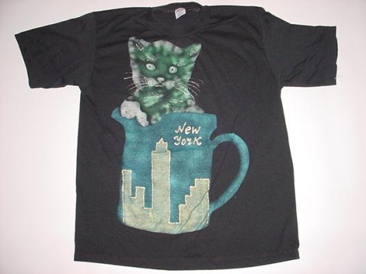 Vintage New York City Cat T-Shirt