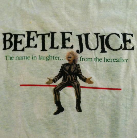 Vintage Beetlejuice T-Shirt