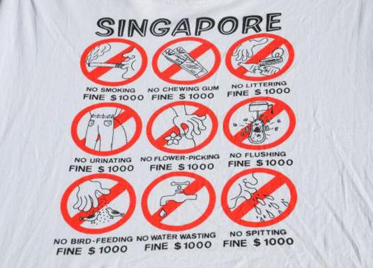 Vintage Singapore T-Shirt