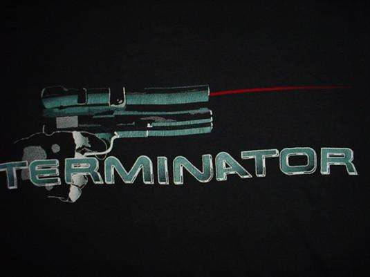 Vintage The Termintor T-Shirt