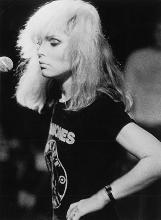 Debbie Harry in Ramones Tee