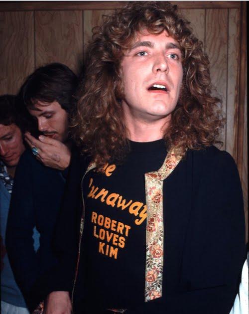 Robert Plant in Runaways Tee