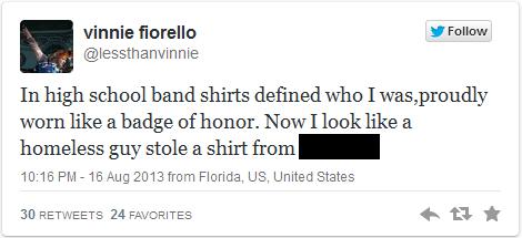 Censored Tweet